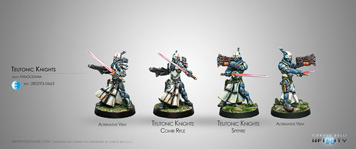 TEUTONIC KNIGHTS (SPITFIRE/COMBI RIFLE)