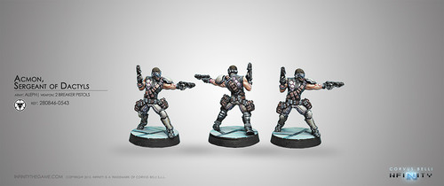 Acmon,Sergeant of Dactyls (2 Breaker Pistols)