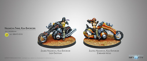The Nazarova Twins, Kum Enforcers