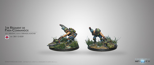Para-Commandos 1 (Rifle, Light GL)