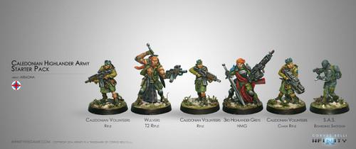 Caledonian Highlander Starter Pack