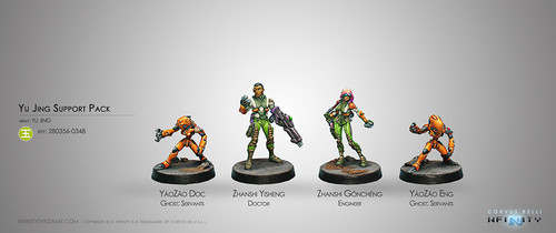 Yu Jing Support Pack