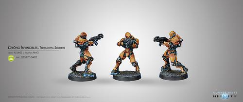 Zuyong Invincibles, Terra-cotta Soldiers