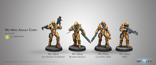 Wu Ming ASSAULT CORPS (NEW)