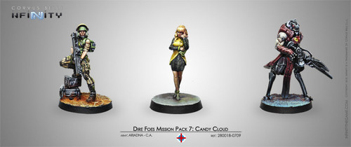 DIRE FOES MISSION PACK 7: CANDY CLOUD