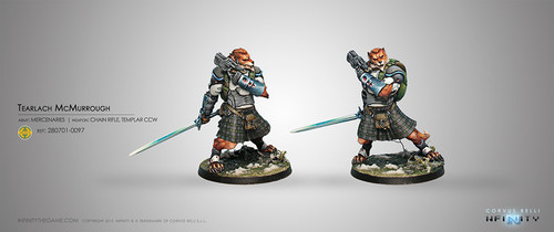 Tearlach McMurrough (2 Chain Rifle, Templar CCW) NEW
