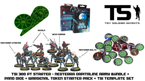 TSI 300pt Starter - Neoterran Capitaline Army with Infinity Essentials