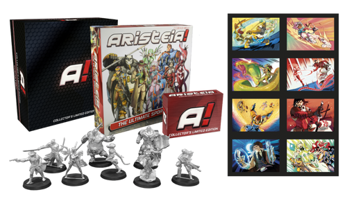 Aristeia! Core Collector's Limited Edition (pre-order until November 13th)
