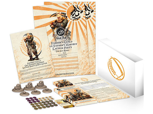 Guild Ball The Famers Guild Old Fathers Harvest Launch Party Pack