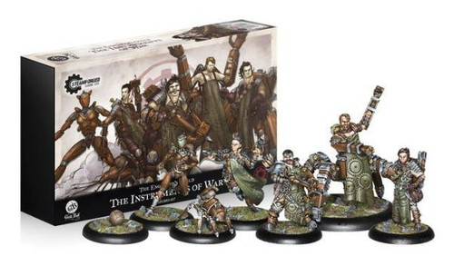 Guild Ball The Engineers Guild The Instruments of War
