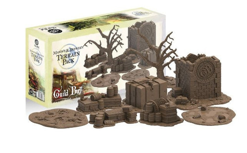 Guild Ball Masons and Brewers Terrain Pack