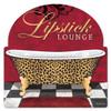 """""""Lipstick  Lounge""""  Metal  Wall  Art"""