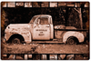 """OLD PICK-UP TRUCK"" VINTAGE METAL SIGN"