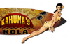 """3-D Kahuna Kola Surf Board""  Metal  Wall  Sign"