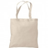 PLAIN BACK OF CANVAS TOTE BAG