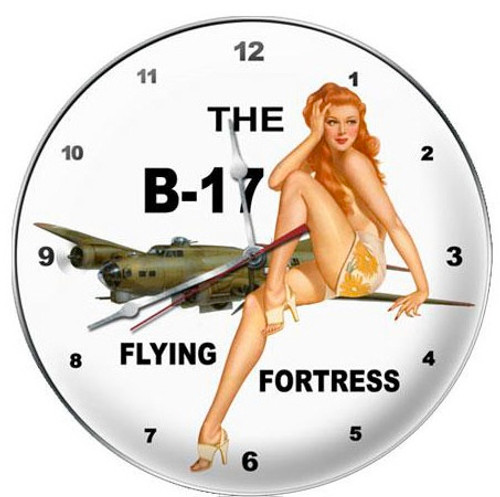 THE  B-17  FLYING  FORTRESS  CLOCK