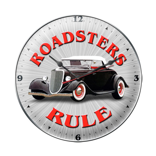 """ROADSTERS  RULE ""  CLOCK"