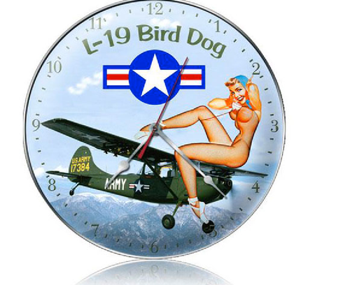 """ L-19  BIRD  DOG ""  CLOCK"