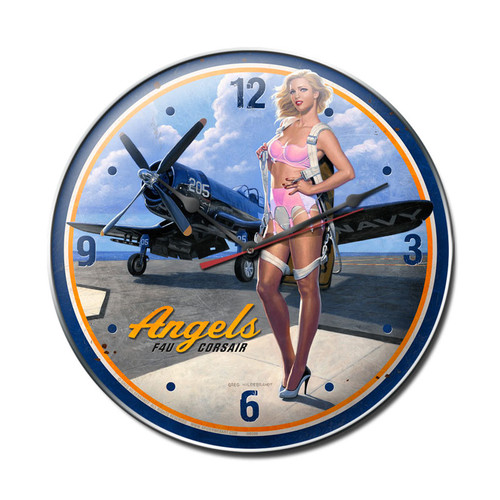 """""""ANGELS  CORSAIR""""  CLOCK"""