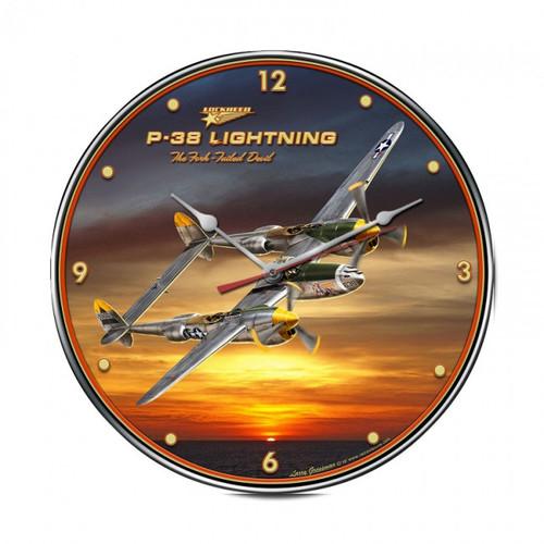 """""""P-38""""  CLOCK"""