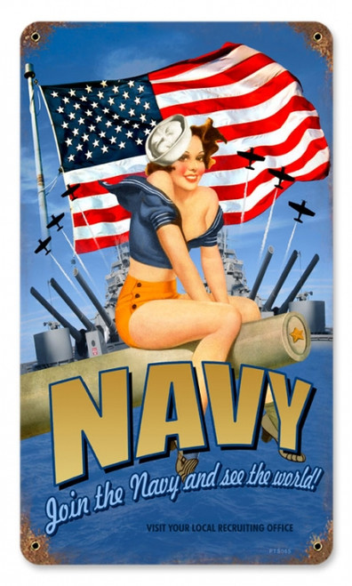 Join The Navy And See The World