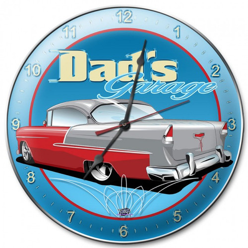 """55  CHEVY""  CLOCK"