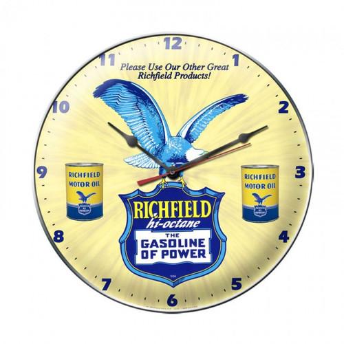 """RICHFIELD""  CLOCK"