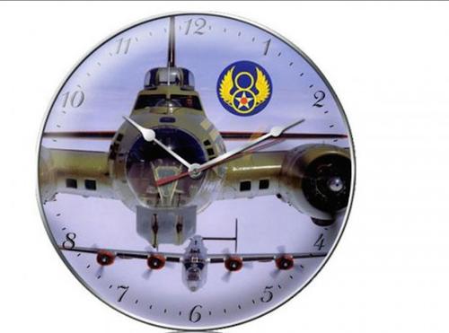 """B-17  and  B-24 ""  CLOCK"
