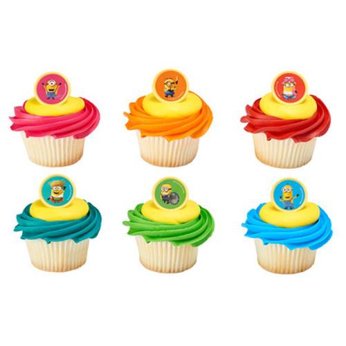 Minion Mayhem Cake and Cupcake Toppers