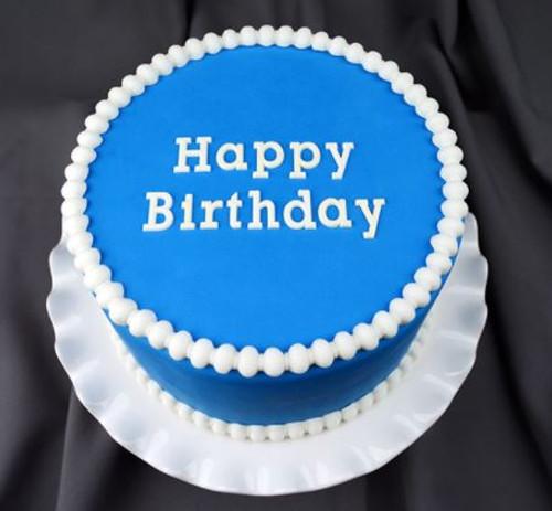 Happy Birthday Typewriter Style Silicone Mold