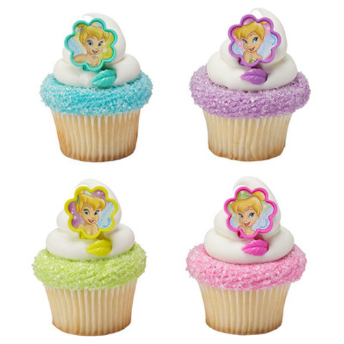 Tinkerbell Cake and Cupcake Toppers