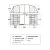 Longleat 800XL Floorplan & Dimensions