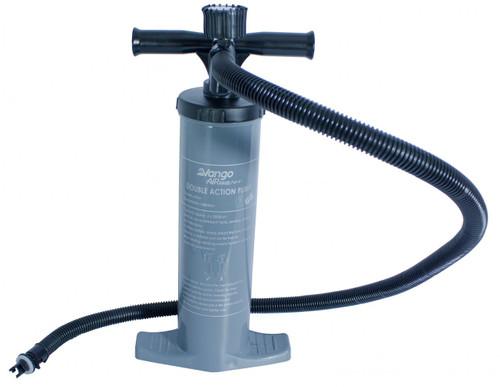 Vango Alloy Double Action Pump with Gauge