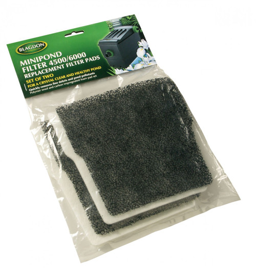 Mini Pond 10/14000 Filter Carbon & Wool Replacement