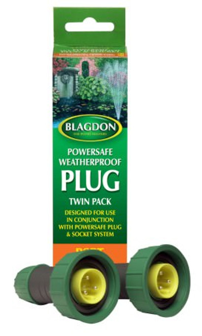 Blagdon Powersafe Plug Twin Pack