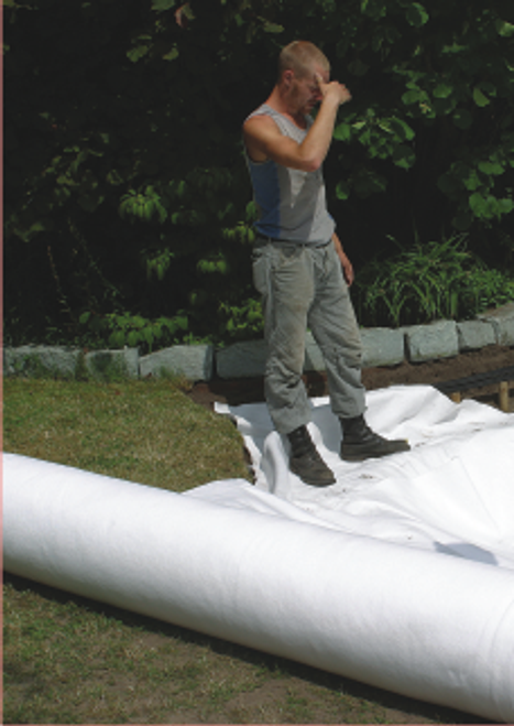 Geotextile Pond Underlay per linear metre 150gsm