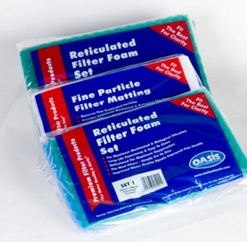 Pond Filter Foam Set 1