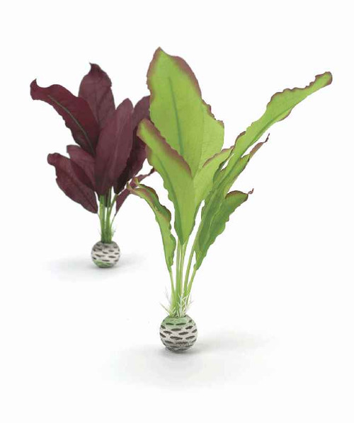 biOrb Silk Plant Set M Green & Purple