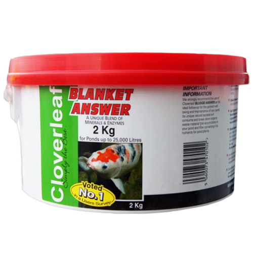 Cloverleaf Blanket Answer 2Kg