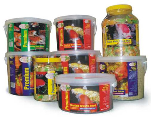 Premium Fish Flake Pond Food  300g