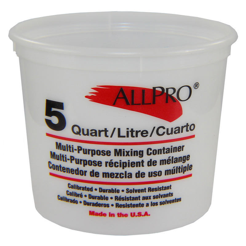 Mix and measure buckets
