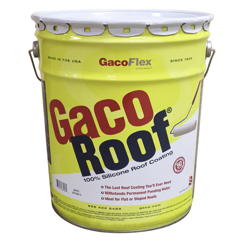 Gaco Roof Silicone Roof Coating White GR1600
