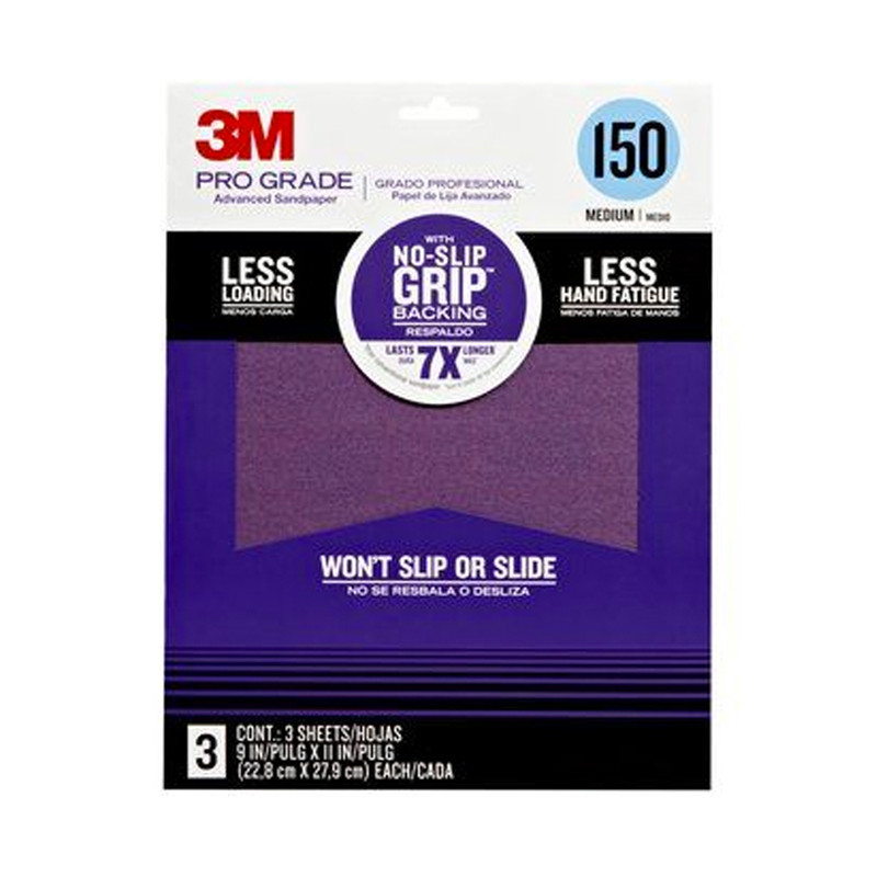 3M Pro Grade Advanced Sandpaper