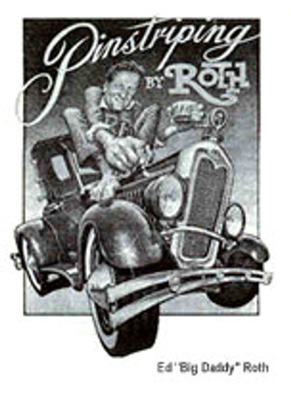 Pinstriping by Ed Roth Book