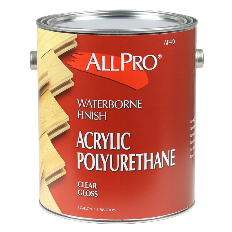 allpro acrylic waterborne polyurethane wood finish southern paint