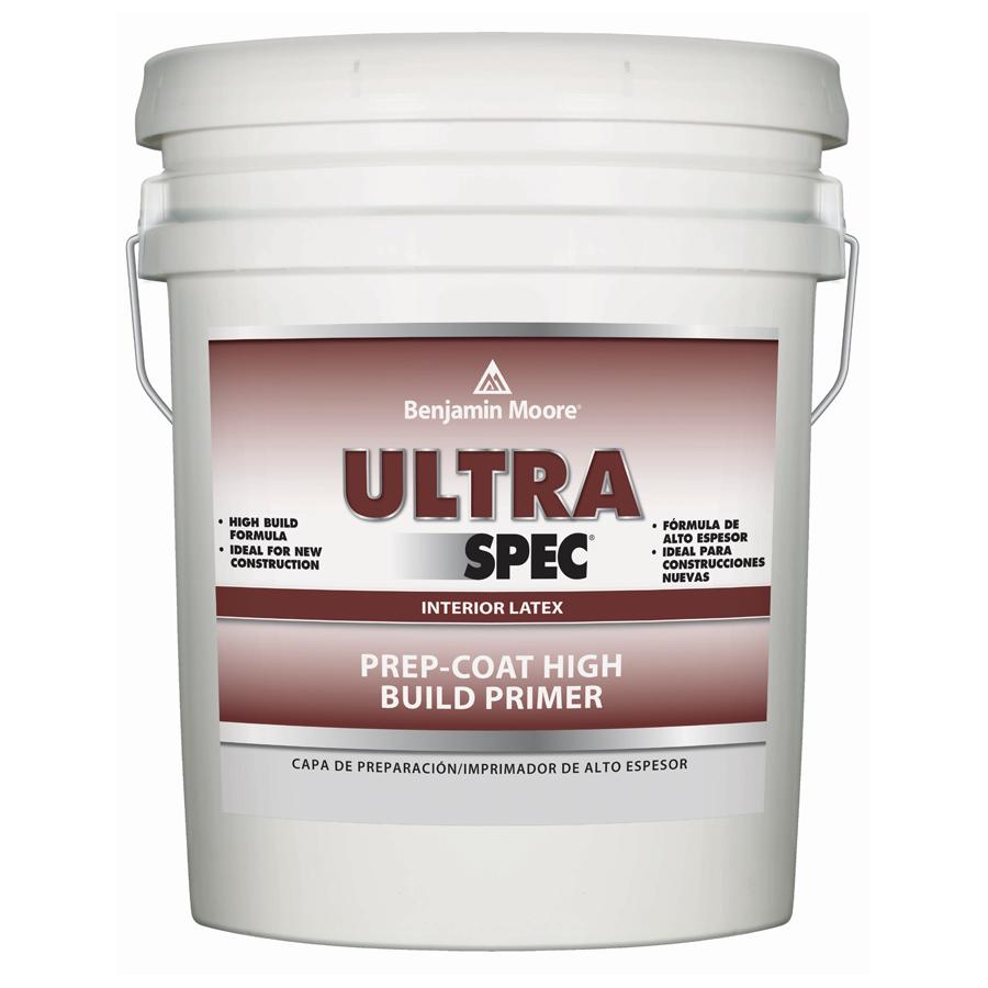 Benjamin Moore Ultra Spec Prep Coat High Build Latex Primer   5 Gallon    WHITE   Southern Paint U0026amp; Supply Co.