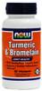 NOW Foods Turmeric Bromelain