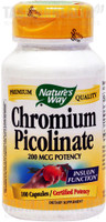 Nature's Way Chromium Picolinate