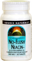 Source Naturals No Flush Niacin 500mg