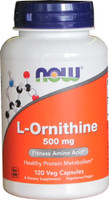NOW Foods L-Ornithine 500mg